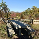 Picnic area - Popcorn Overlook